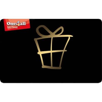 One4all Gift Card £150 Black