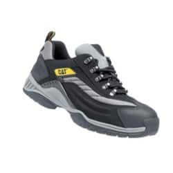 Caterpillar Safety Trainers leather size 10 Black