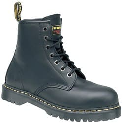 Dr. Martens Safety Boots leather size 10 Black