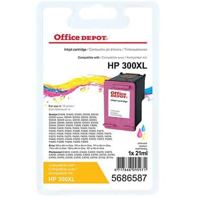 Office Depot Compatible HP 300XL Ink Cartridge CC644EE 3 Colours