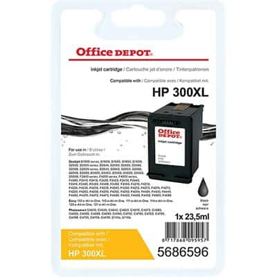 Office Depot Compatible HP 300XL Ink Cartridge CC641EE Black