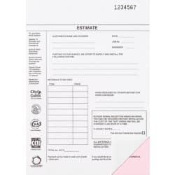 Custom pad - two colour print- two part pads - from A5 to A4 - pack of 4