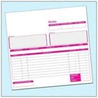 Ease-Apart Invoice Book 3-Part 50 Sheets Pack of 5