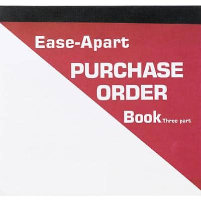 Ease-Apart Purchase Order Forms 3-Part 50 Sheets Pack of 5