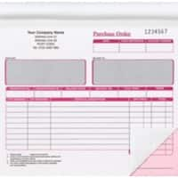 Ease-Apart Purchase Order Forms 2-Part 50 Sheets Pack of 5