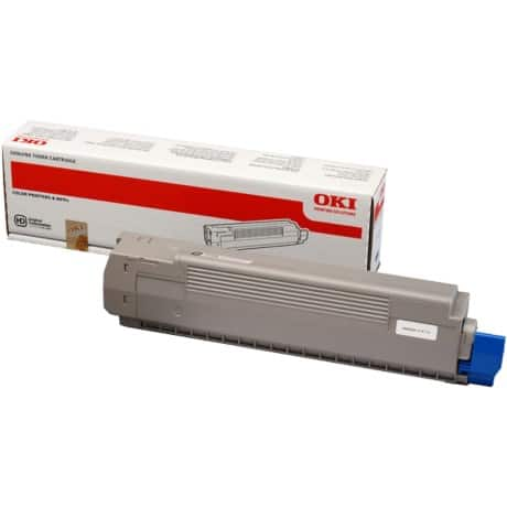 OKI 44643004 Original Toner Cartridge Black
