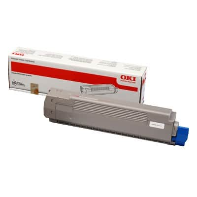 OKI 44643001 Original Toner Cartridge Yellow