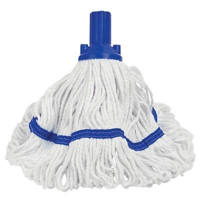 Exel Mop Head with Handle Blue