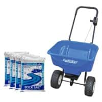 Earthway Rock Salt and Spreader Blue 7000 g