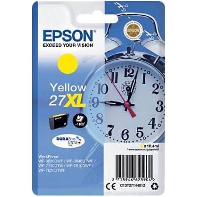 Epson 27XL Original Ink Cartridge C13T27144012 Yellow
