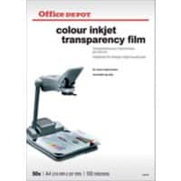 Office Depot Transparency Film 100 Micron A4 Matt 21 x 29.7 cm Transparent 50 Sheets
