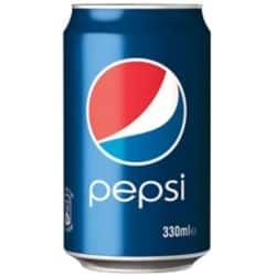 Pepsi Regular can 24 pieces of 330 ml