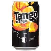 Tango Soft Drink Can Orange 330ml Pack of 24