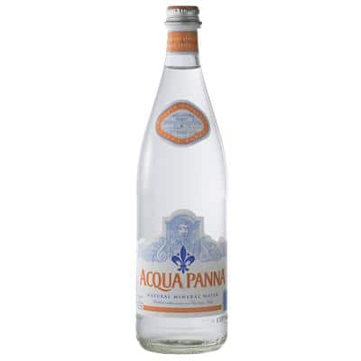 Acqua Panna Still Natural Mineral Water Glass 750ml Pack of 12