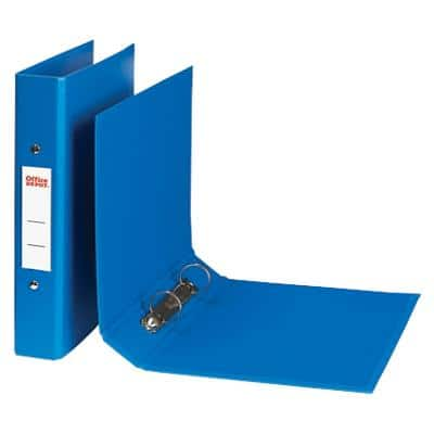Office Depot Ring Binder Polypropylene A4 2 ring 40 mm Blue