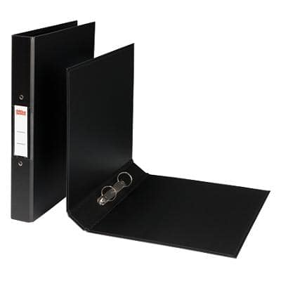 Office Depot Ring Binder Polypropylene A4 2 ring 40 mm Black