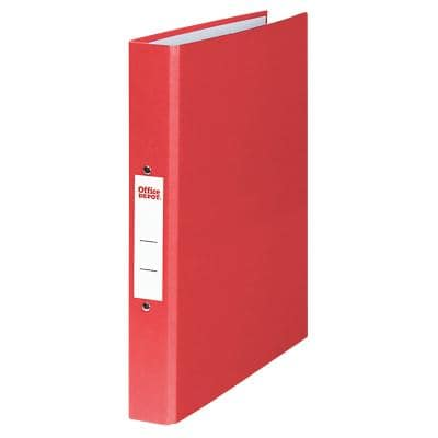 Office Depot Ring Binder 2 ring 25 mm Paper on Board A4 Red