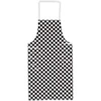 Alexandra Apron Cotton, Teflon Royal Big Check