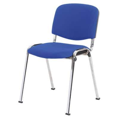Niceday Stacking Chair 5815575 Blue Pack of 4