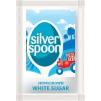 Silver Spoon Sugar Sachets White 1000 Pieces of 2.5 g