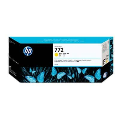 HP 772 Original Ink Cartridge CN630A Yellow