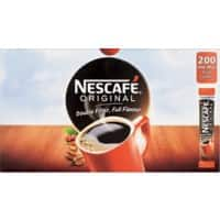 NESCAFÉ Original Instant Ground Coffee Sachets Granules 1.8g 200 Pieces
