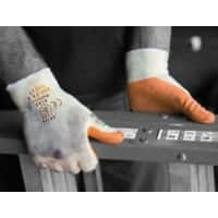 Polyco Gloves Latex Unpowdered Size 8 Orange