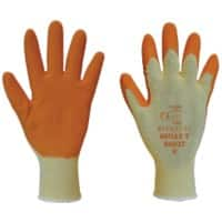Polyco Gloves Latex Size 10 Orange