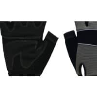Polyco Gloves Leather Unpowdered Size 9 Black, Grey