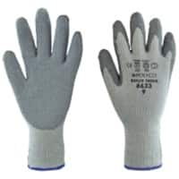 Polyco Gloves Latex Unpowdered Size 10 Grey