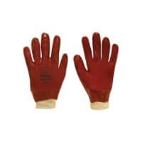 Polyco Gloves PVC Size Universal Red