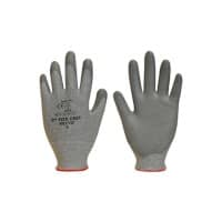 Polyco Gloves Polyurethane Unpowdered Size 9 Grey