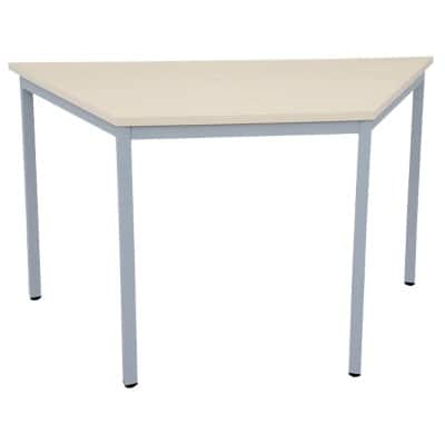 Niceday Trapezoidal Meeting Room Table 1400 mm Maple