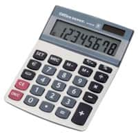 Office Depot Desktop Calculator AT-812E 8 Digit Display Grey