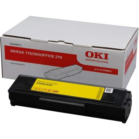 OKI 1290801 Original Black Toner Cartridge