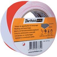 Tarifold Floor Marking Tape Vinyl 5 cm Red & White