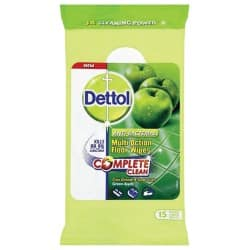 Dettol Floor Wipes apple 15 pieces
