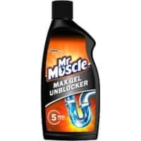 Mr Muscle Max Gel Pipe Unblocker 500ml