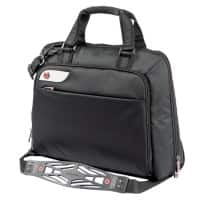 i-Stay 15.6 - 16 Inch Messenger Bag with Non-Slip Bag Strap Black