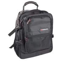 Monolith Laptop Backpack 9107 15.4 Inch Polyester, Nylon Black 34 x 44 x 22 cm