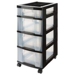 Really Useful 4 Drawer Unit 3 x 12 Litre + 1 x 7 Litre Drawers