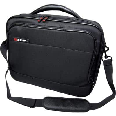 Monolith Laptop Bag 2341 15.4 Inch Nylon, Polyester Black 39.5 x 10.5 x 32 cm