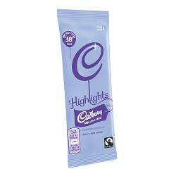Pack 30 Cadbury Highlights Instant Hot Chocolate Sachet 11 g