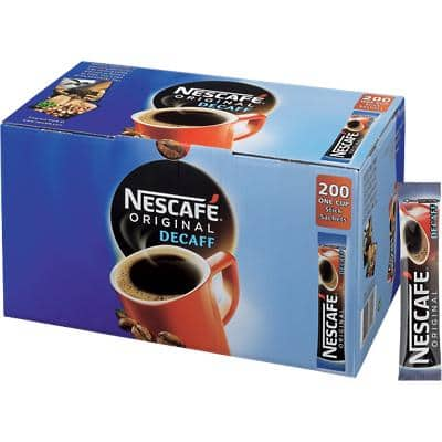 NESCAFÉ Original Decaff Instant Ground Coffee Sachets Decaffeinated 1.8g 200 Pieces