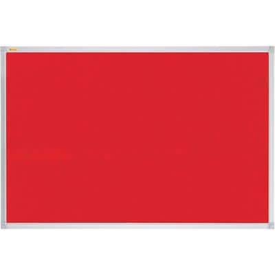 Franken Wall Mountable Notice Board 120 x 90 cm Red