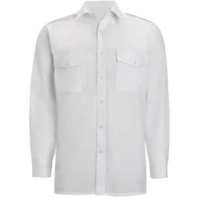 Alexandra Shirts and Blouses Cotton, Polyester 19 White