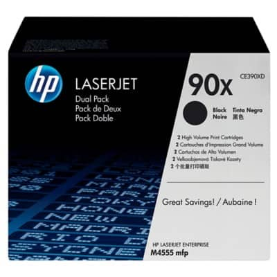 HP Original Toner Cartridge CE390XD Black