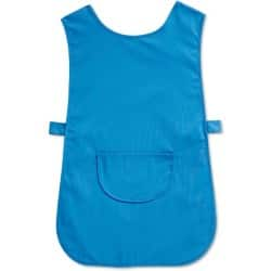unisex Easycare tabard Size: L Length: 27.5ins (70cm) Navy