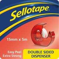 Sellotape Tape Dispenser Transparent 1.5 cm