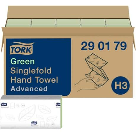 Tork Hand Towels Advanced 2 ply 15 pieces of 250 sheets